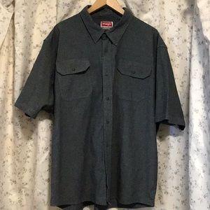 Wrangler comfort Flex button up shirt size 2XL